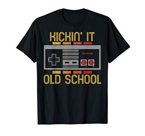 Nintendo NES Controller Kickin' It Old School T-Shirt