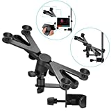 Neewer 7-14 inches Adjustable Tablet Holder Mount with 360 Degree Swivel Clamp for Connecting with...