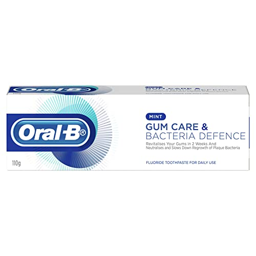Oral-Bgum Care & Bacteria Defense Toothpaste, 110 Grams