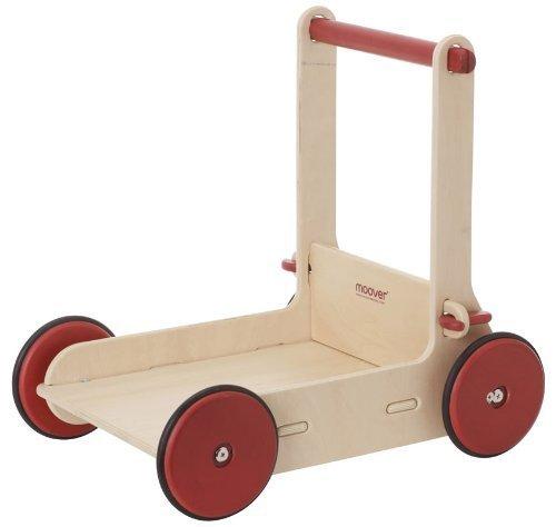 MOOVER Lauflernwagen mit einstellbarem Abrollwiderstand - Baby-Walker Natural
