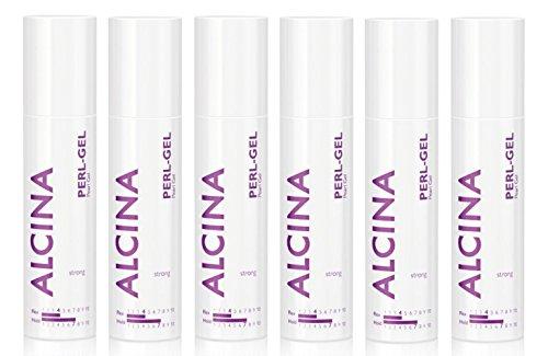 6er Perl Gel Strong Pearl Gel Styling Alcina 100 ml