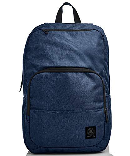 Invicta Easy Medium Office Backpack, School Backpack, 206001992-579, Blue, 206001992-579