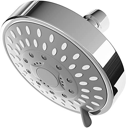 GARLAT Shower Head High Pressure Duchas de Baños Adjustable 5-Settings Multi-Functional