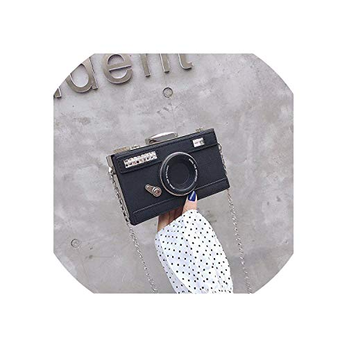 Hengheng-shop handbag Psonalized Design Cama Forma Nubuck Debe BagCasual Mini bolso de mensajero bolso, Negro (Negro), Talla única
