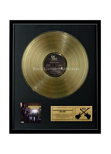 RGM1347 Ghostface Killah - Fishscale Gold überzogene 12 '' LP von Rock Guitar Miniatures
