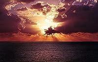 1500ピースジグソーパズル 木製ジグソー脳チャレンジ | 夕日の海の風景