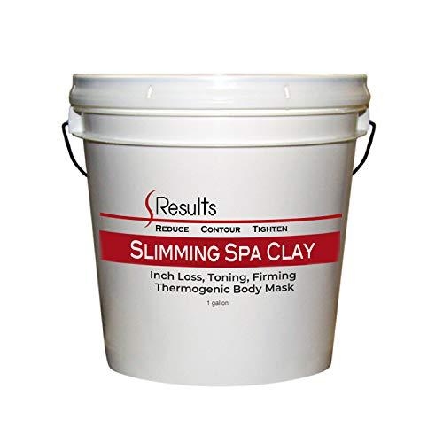 Spa Clay (Sea Clay) Formule d'enveloppement corporel minceur - 1 gallon