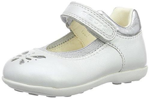 Geox Baby Mädchen B Jodie A Sandalen, Weiß (Whitec1000), 24 EU