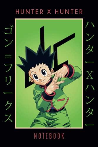 Hunter X Hunter Gon Notebook: Anime Manga Journal, Anime Lovers Notebook, ハンターXハンター,...