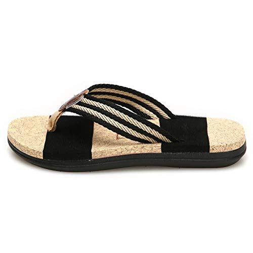 Modaworld Sandalias Plataforma Mujer Verano 2019 Tallas Grandes en Oferta Chanclas Bajas Planas Sandalias de Playa Zapatos Zapatillas ni/ña 35-43 Sandalias Planas Mujer