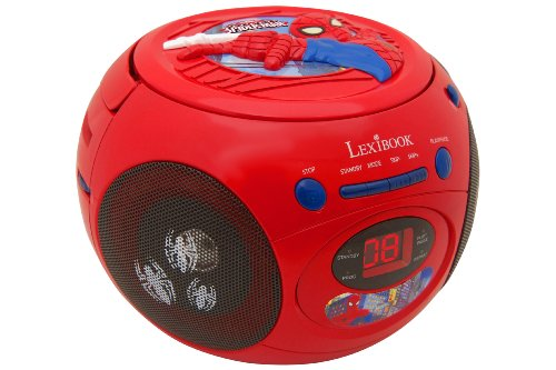 Lexibook - Boomboxen & MP3-Player in Rot