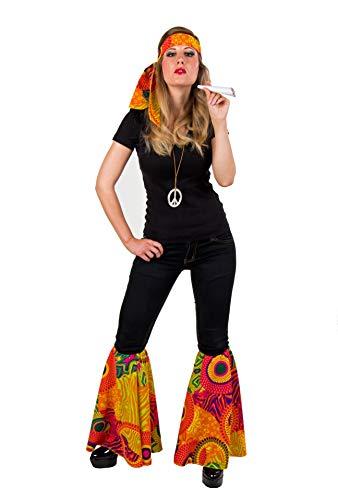 Set d'accessoires pour déguisement de déguisement de costume hippie années 70 by Festartikel Müller