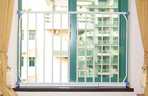 Balcone Finestra Guardrail, Finestra Ringhiera, Protezione per Bambini Finestra Sicurezza antifurto Rete Punch Free (Dimensioni : 100-165cm)