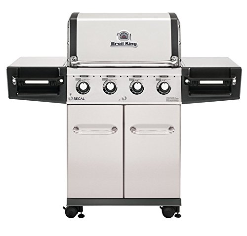 Broil King Regal S420 Pro - Stainless Steel - 4 Burner Propane Gas Grill