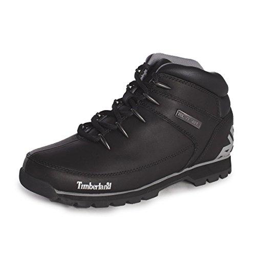 Timberland Herren Euro Sprint Hiker Chukka Boots, Schwarz (Black Reflective), 44 EU