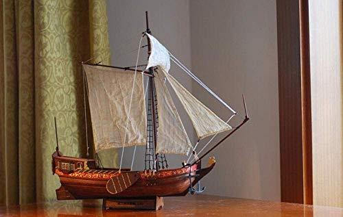 XIUYU Wohnzimmerdekorationen Wasserfahrzeug Modellbau Kits Schiffs-Modell-Boot Kit Maßstab 1/80 Royal Netherlands Yacht und Boote Modellbausätze
