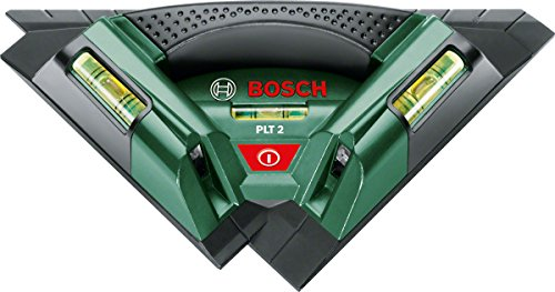 Bosch 603664020 Fliesen-Laser PLT 2, 1.5 V, Schwarz, Grün