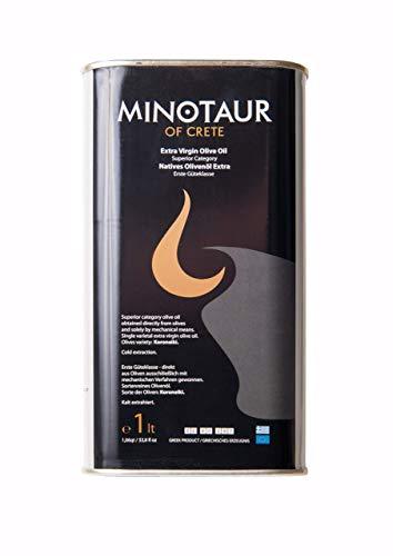 Minotaur of Crete | Extra Natives Premium Olivenöl aus Kreta | Kaltextraxiert | 1 Liter (1L)