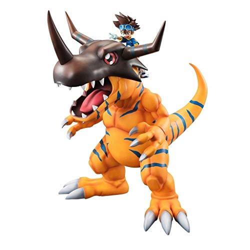 Greymon Y Yagami Taichi G.E.M.Series PVC Figura Digimon - 11.22 Pulgadas