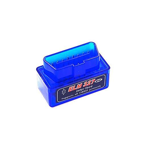 Best Mini Elm327 Bluetooth OBD2 OBDII V2.1 Auto Diagnostic Scanner ELM 327 V 2.1 Car Diagnostic-Tool elm-327 OBD Adapter Scanner
