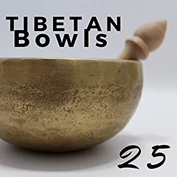 25 Tibetan Bowls for Relaxation