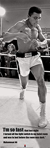 Muhammad Ali CPP20092 Drucken, Mehrfarbig, 53 x 158cm