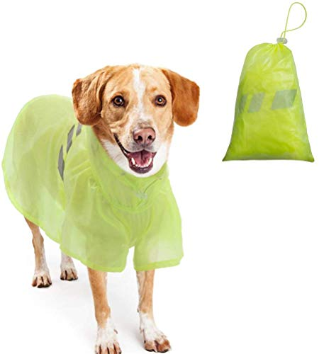 BINGPET Dog Raincoat for Small to Large Dogs -...
