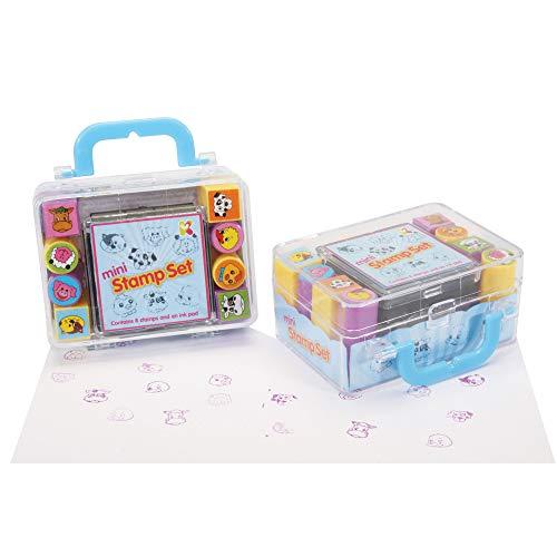 Keycraft 9700018 Lot de Mini tampons Multicolore