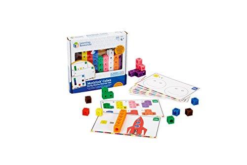 Learning Resources Mathlink Cubes Conjunto de Actividades , color, modelo surtido