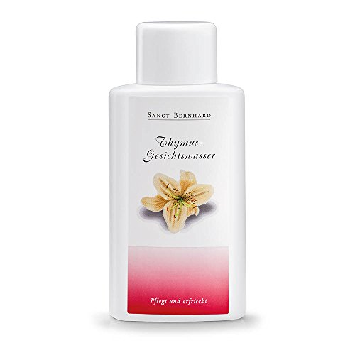 Sanct Bernhard Thymus-Gesichtswasser mit Aloe Vera, Collagen 250 ml