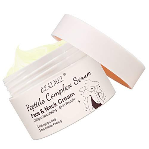 FRCOLOR Removedor de Arrugas Crema Hidratante Crema de Belleza Facial Crema de Masaje Reafirmante