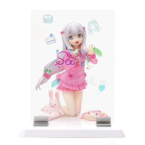 Diseño Premium, Detalle Y Articulación,Modelo De Coleccionable De PVC Hecho A Mano 13Cm Anime Ero Manga Girl Sensei Sagiri Izumi Dulce PVC Figura De Acción Anime Figura Juguete Colección Estatua Reg