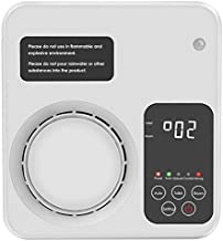 TREKOO [Upgraded Air Purifier Home Air Ionizer Ozone Generator Odor Remover Deodorizer for Bedroom Living Room Restroom Office, White