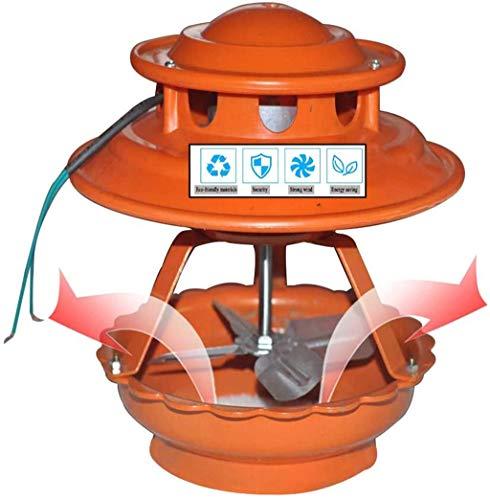 QMZDXH Ventilador de Chimenea, Extractor de Aire Exterior, Ventilador de Chimenea para Chimenea, Evacuador de Humos de Chimenea, Accesorio de Chimenea, Tapa de Chimenea