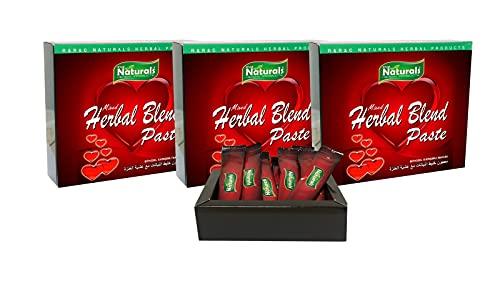 3x Naturals Sticks Kräuterpaste mit Honig 12x 12 gr. Herbal Blend Paste Bitkisel Macun * BESSER ALS THEMRA *