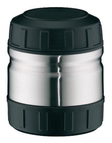 alfi Thermobehälter für Essen Outdoor, Edelstahl mattiert 500ml, kleines Speisegefäß für Speisen, Suppen oder Müsli unterwegs, auslaufsicher, BPA-Frei, 6 Stunden heiß, 10 Stunden kalt - 5708.205.050