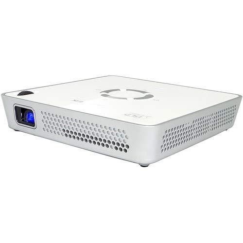 Aiptek 430072 i120 DLP Pico Projektor mit voller WLAN Konnektivität weiß
