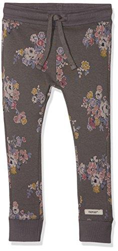 Papfar Mädchen Printed Sweat Jogginghose Hose, Mehrfarbig (Dark Grey 150), 140 (Herstellergröße: 10Y)