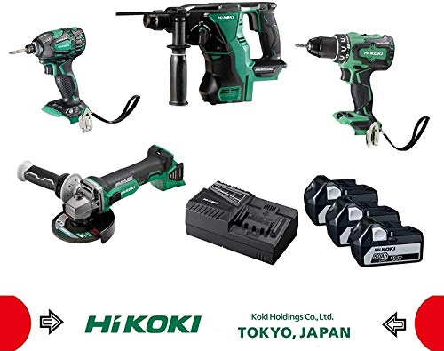 HIKOKI KC18DG4LWDZ KC18DG4L Akku-Combo-Kit