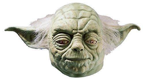 Rubie's Yoda-Maske, offizielles Star Wars-Produkt, für Erwachsene, Latex-Maske, Einheitsgröße