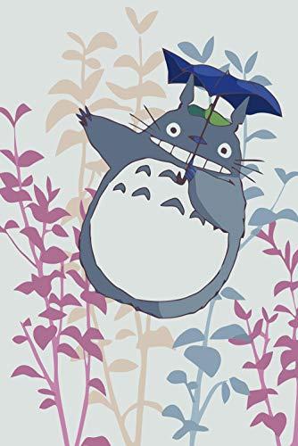 GFSJJ 108 Piezas Puzzles En Madera para Adultos Kids Infantiles Adolescentes Anime Mi Vecino Totoro Puzzle 108 Piezas para Niños 3 Años (9 X 7 Pulgada)
