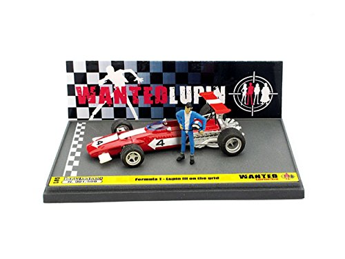Brumm BML05 Ferrari 312B Wanted Lupin ON The Grid 1:43 MODELLINO Die Cast Model Compatible con