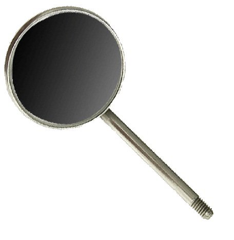 Pack of Sale item 12 Regular Indianapolis Mall Dental Mouth Simple 5 Size Mirrors Stem