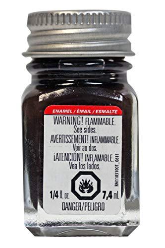 Testors 1183TT Rubber Enamel Paint 1/4 oz Flat