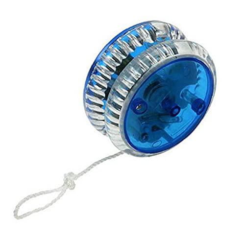 YoYo magia professionale LED del yo-yo di plastica del giocattolo Yo Yo sfera di misura per bambini adulti Blu