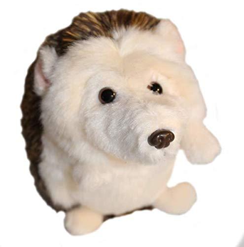 """Uni-Toys """"Igel"""" braun: Plüschtier sitzend, Größe: 13cm"""