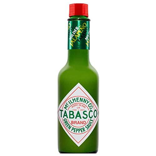Tabasco Jalapeño Sauce , 1x150ml, 0,15 l, scharfe Chili Sauce, 100% natürlich, Glasflasche