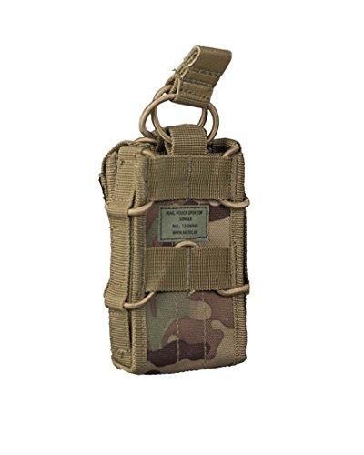 Mil-Tec Munitions pochette unique avec dessus ouvert Multitarn
