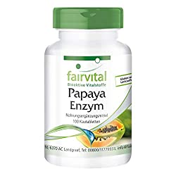 Papaya-Enzym auf amazon