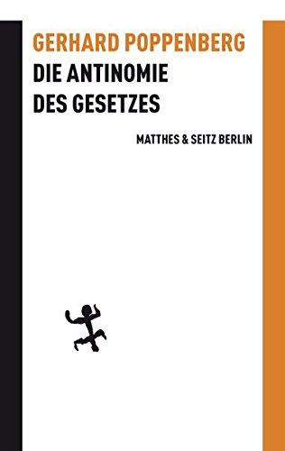 Die Antinomie des Gesetzes: Der Orest-Mythos in der Antike und der Moderne (Batterien)